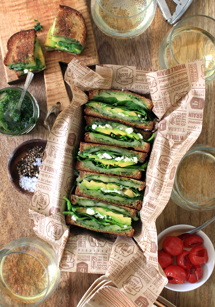 The Green Goddess Grilled Cheese