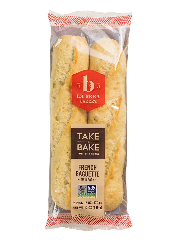 Take and Bake Classic French Baguette Twin Pack