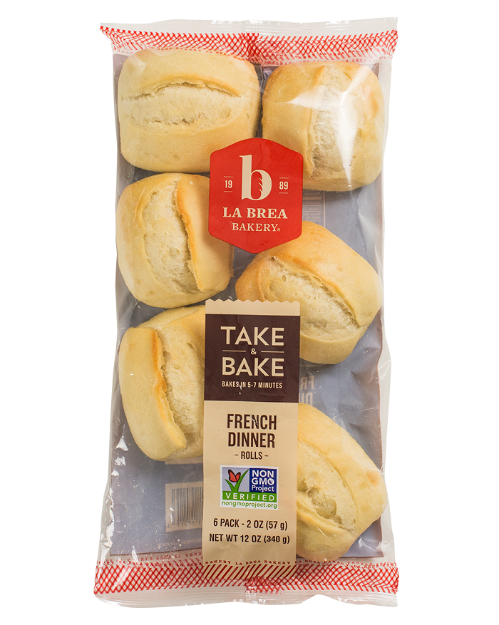 Take and Bake French Dinner Roll