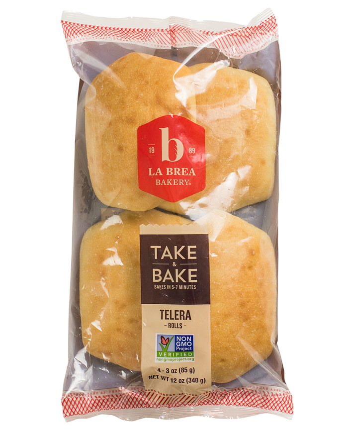Take and Bake Telera Roll Package
