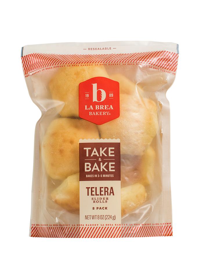 Slider Rolls: Take & Bake Telera Slider
