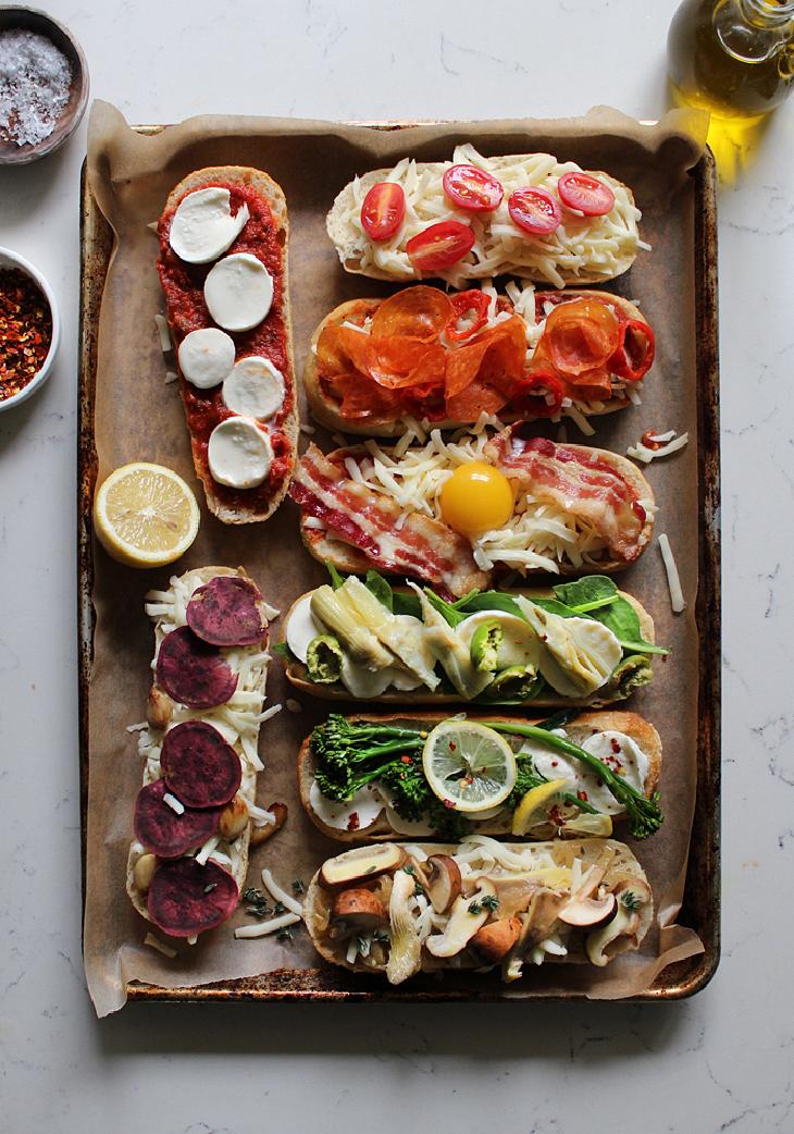 Dinner Ideas: French Bread Pizza Recipe | La Brea Bakery