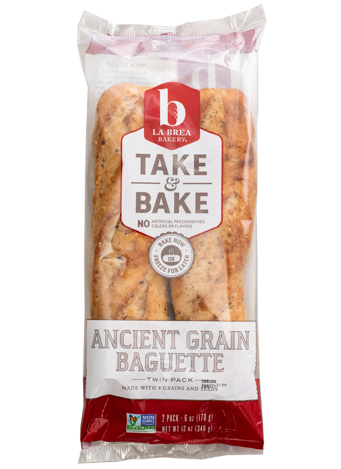 Take and Bake Ancient Grain Twin Pack Baguette