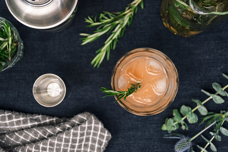 La Brea Bakery Rosemary Greyhound Cocktail Recipe