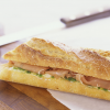 Baguette with Butter & Prosciutto