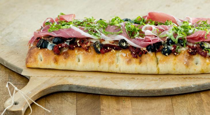Rustic Focaccia Pizza La Brea Bakery