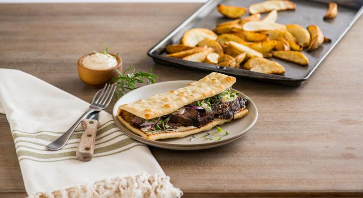 Hanger Steak Flatbread
