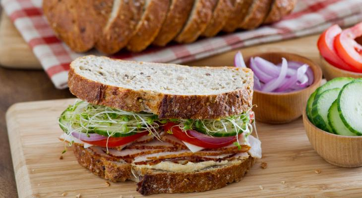 Roasted Turkey Salad Sandwich