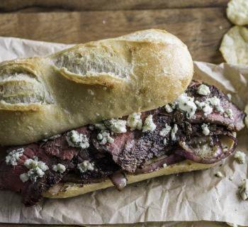 Steak and Gorgonzola Melt