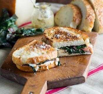 Grilled Cheese Recipe: Baked Brie and Apple | La Brea Bakery