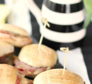 Roast Beef Party Sandwiches