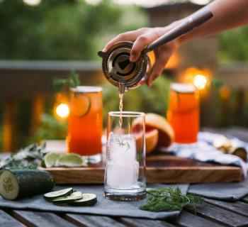 Dill Paloma Cocktail Recipe