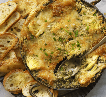 La Brea Bakery French Baguette Spinach and Artichoke Dip Recipe