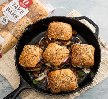 Braised Beef Sliders